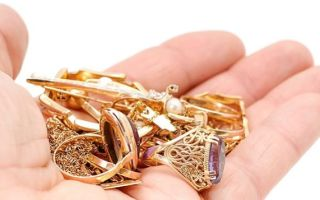 Актуальная цена за грамм лома золота при сдаче