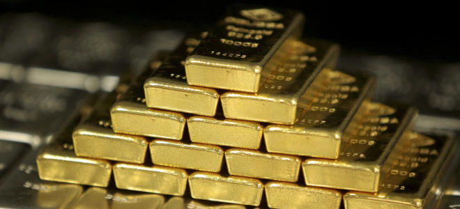 Котировки золота за последние 5 лет