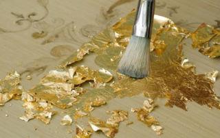 Что такое сусальное золото и где применяется этот материал?