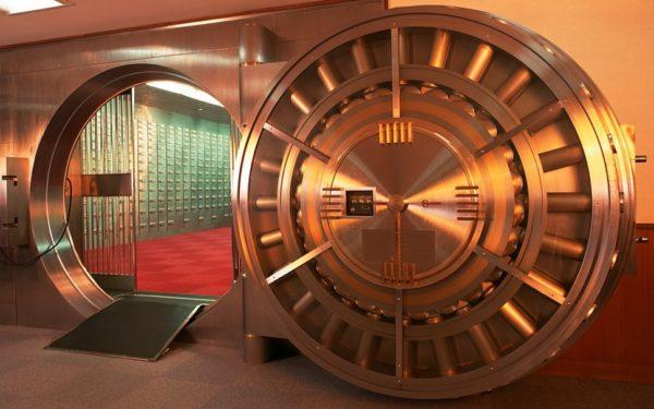 Расположение и охрана помещений где хранятся золотовалютные резервы России