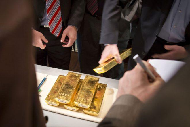 Состояние золотого запаса России на сегодня